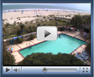 Live Beach View Web Camera Courtesy Of The Winds Resort Club On Ocean Isle