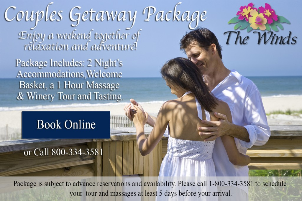 Couples Getaway Image with logo