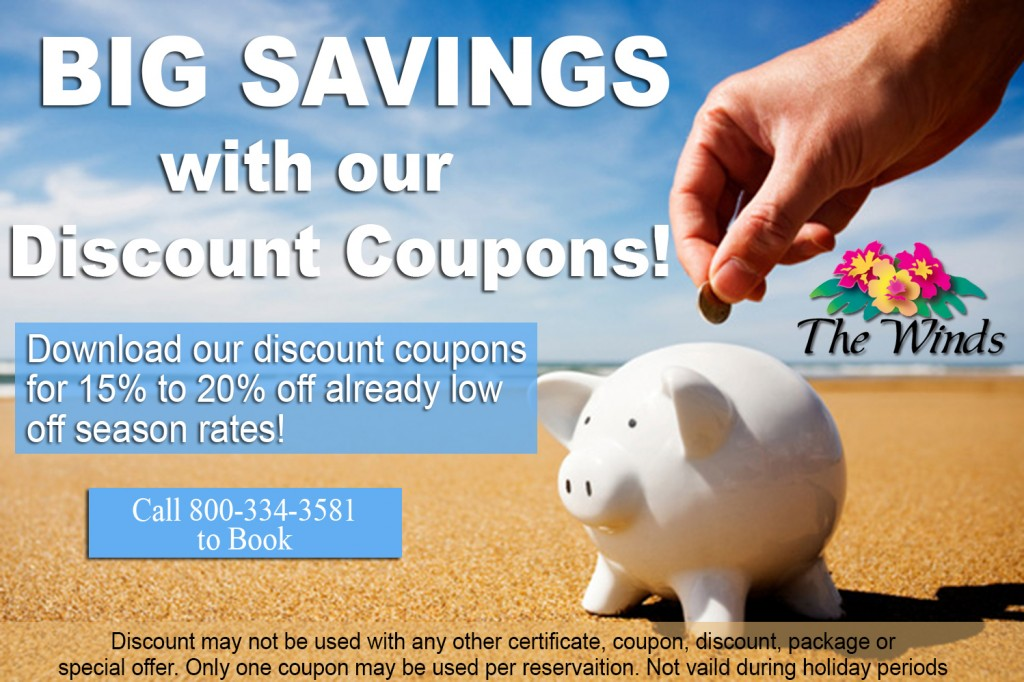 Discount Coupons with logo