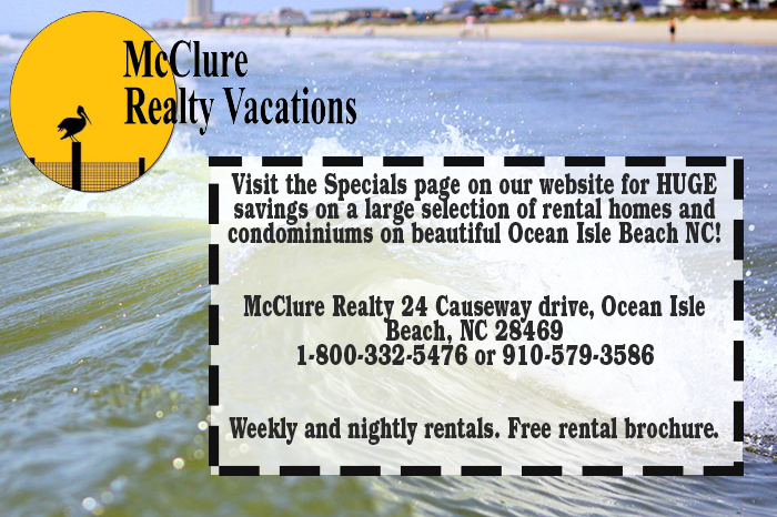 McClure Realty Coupon