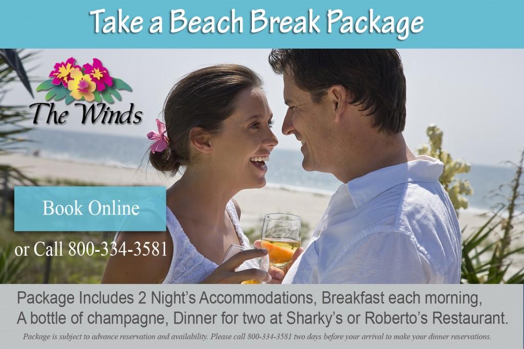Take a Beach Break with logo