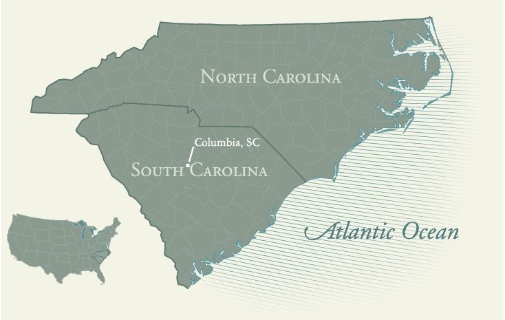 Islands Of The Coast Of South Carolina