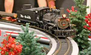 Holiday Train Expo @ Salt Shaker Bookstore & Cafe