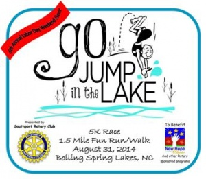 Go Jump in the Lake 5k and Fun Run or Walk @ Spring Lake Park