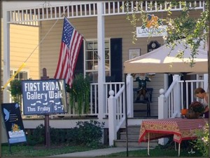 First Friday Gallery Walk @ Historic Downtown Southport | Southport | North Carolina | United States