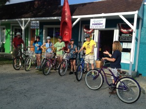 Historical Southport Bicycle Tours @ Adventure Kayak Company