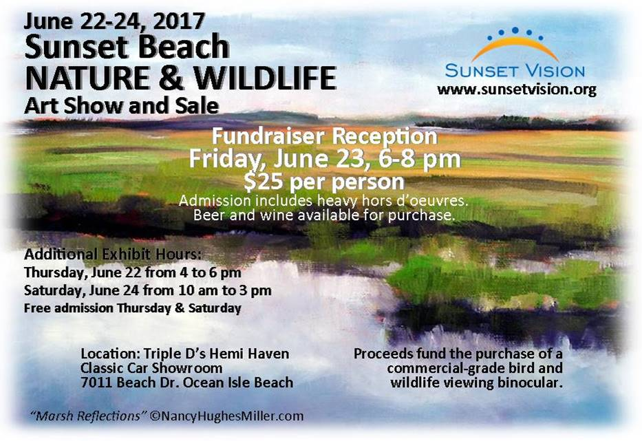 Nature wildlife art show sale coastal nc beaches for Craft shows in nc 2017