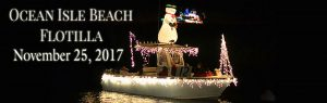 Ocean Isle Beach Flotilla @ Intracoastal Waterway Begins at Inlet View Restaurant and ends at Sharky's Restaurant