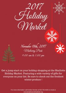 Shallotte Holiday Market @ Mulberry Park