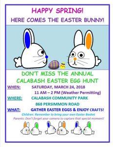 Calabash Easter Egg Hunt @ Calabash Town Park
