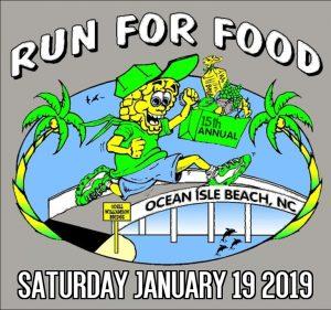 Ocean Isle Beach Bridge Run For Food @ Ocean Isle Beach Town Hall